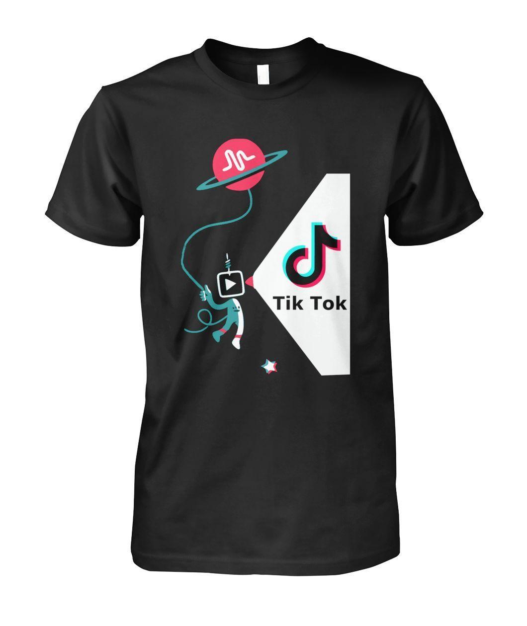 Tik Tok Musically Men Funny T Shirt.1045 in 2020 T