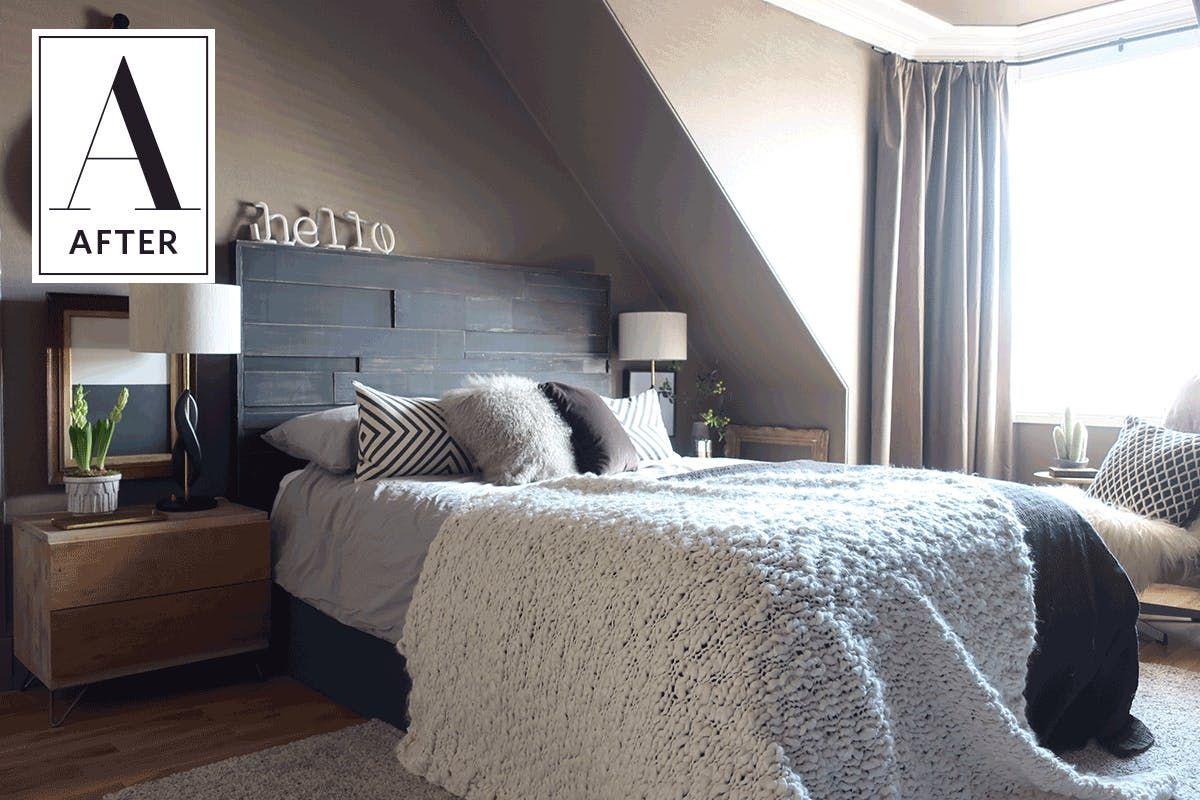 Ikea Design Bedroom Classy Before & After A Fantastic Ikea Hack In A Cozy Bedroom  Ikea Design Inspiration