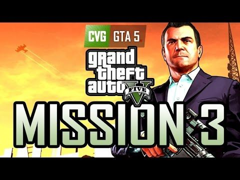 GTA 5 - Mission #3 [GAMEPLAY] - YouTube | Grand theft auto 5