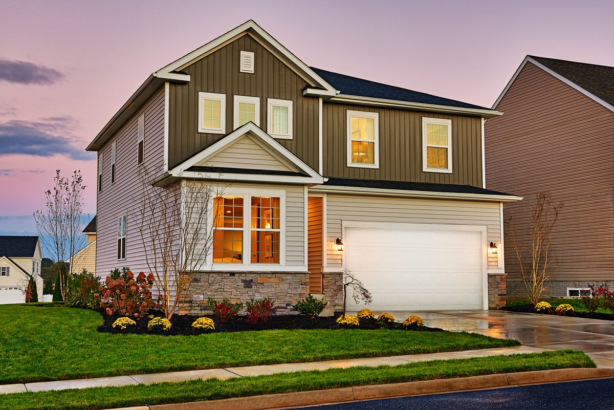 Pearl Model Home At Sunrise Hagerstown Maryland Richmond American Homes Dream House Exterior Richmond American Homes House Exterior