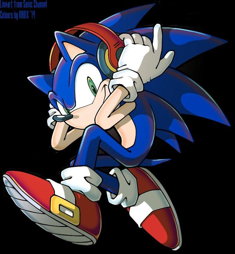 Headphone Sonic Dibujos Sonic Fotos Sonic