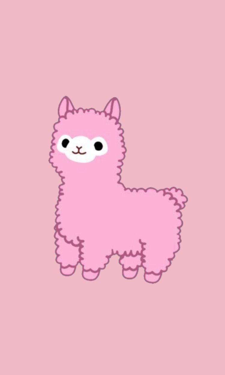 Cute Llama Wallpaper Iphone Phone Wallpaper Pink Wallpaper Iphone Cute Pretty Wallpaper Iphone
