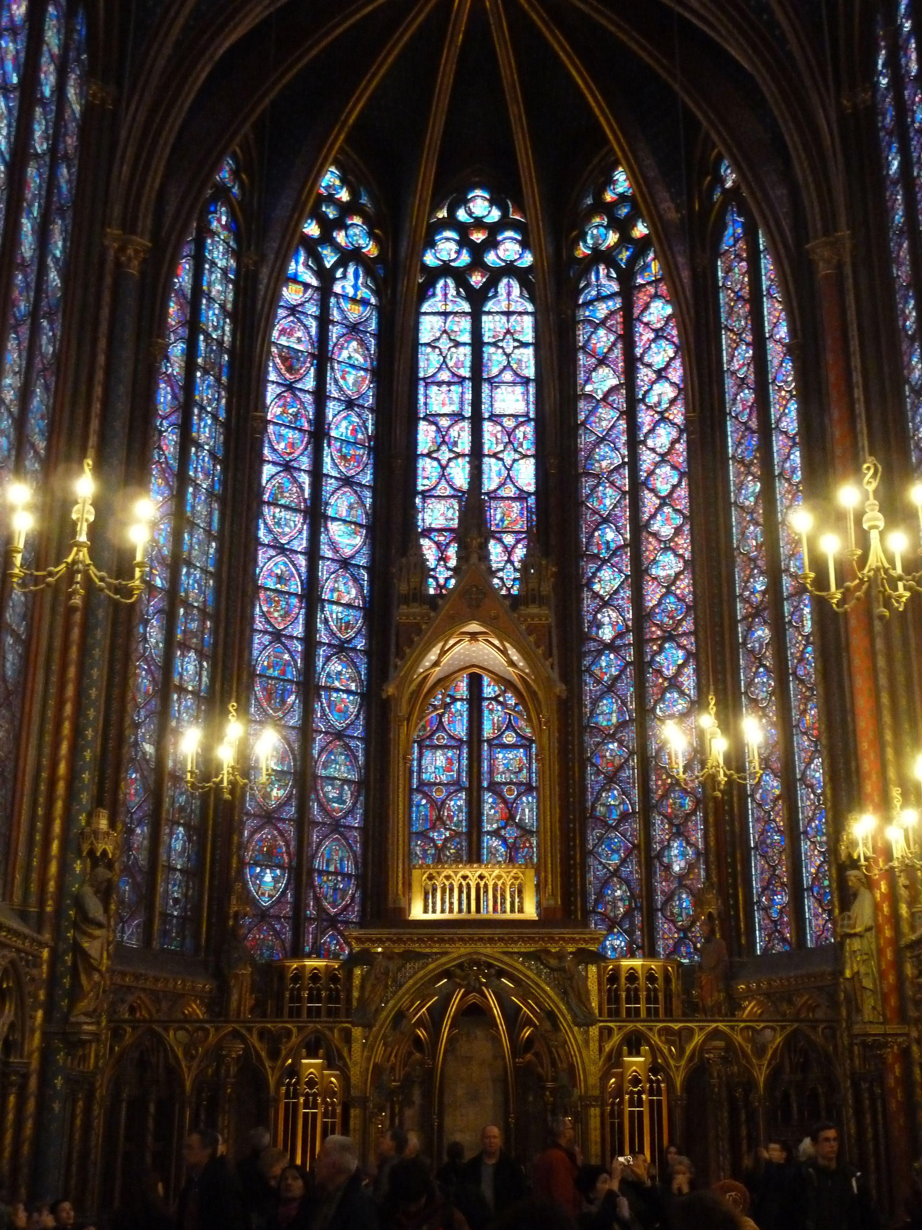 Sainte Chapelle Interior Paris