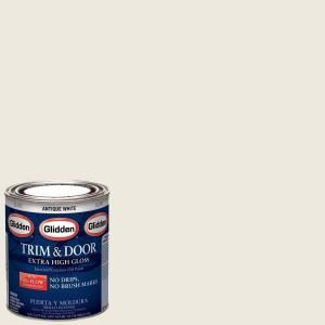 Antique White Gloss Interior Exterior Oil Paint Gl 303 04 At The Home Depot