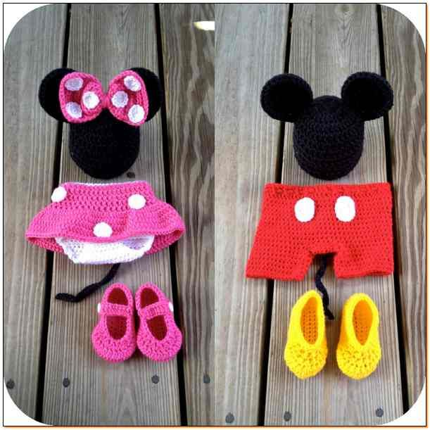 Free Crochet Mickey Mouse Outfit Pattern Crochet All About