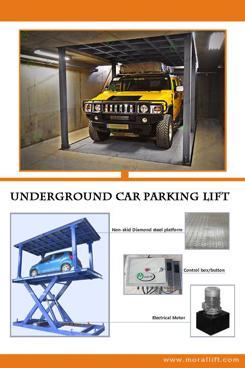 Car Lift To Basement Garage Underground Car Parking Lift It S A Convenient Machine For Car