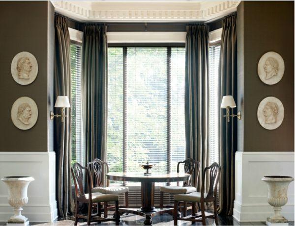Esszimmer Holztisch Gepolsterte Stühle NYC Pinterest Kitchen   Esszimmer  New York
