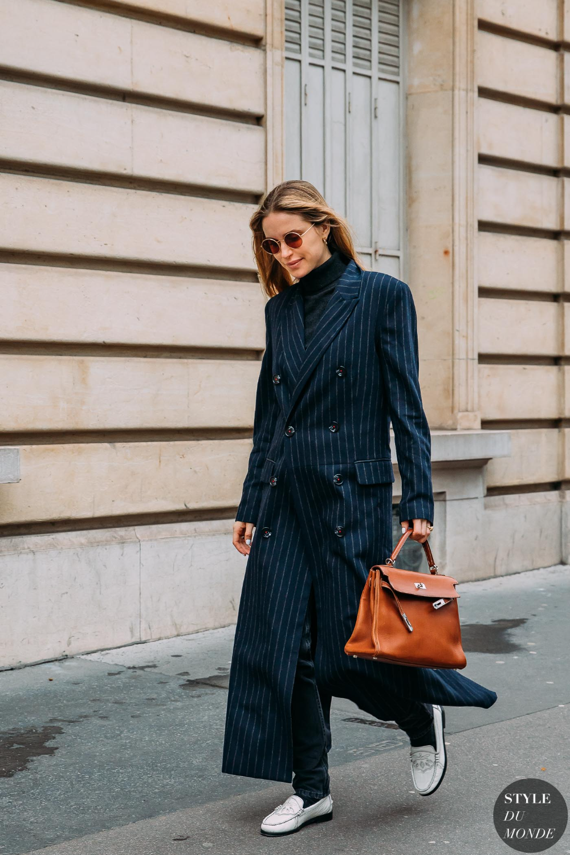 Paris FW 2020 Street Style: Pernille Teisbaek - STYLE DU MONDE | Street Style Street Fashion Photos Pernille Teisbaek