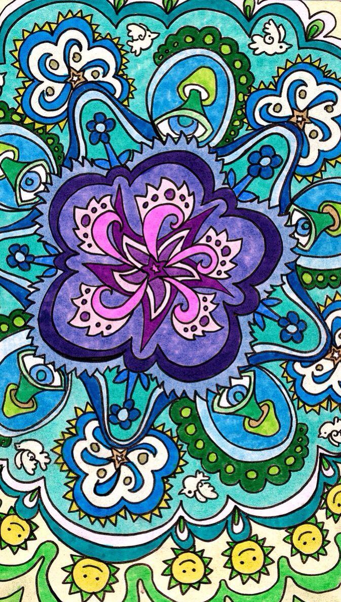 Mandala Pattern of Color