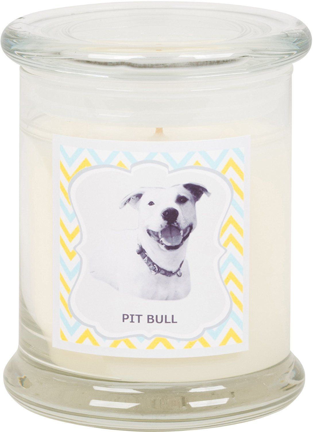 Aroma paws breed candle jar 12ounce pitbull click