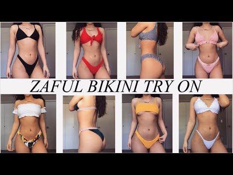 0e762d5563957 ZAFUL BIKINI TRY ON HAUL!! | Zaful Bikini Haul Videos | Bikinis ...