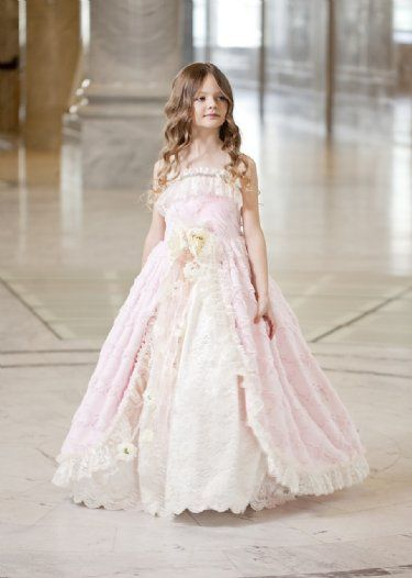 Couture Princess Pink Dream Gown 18 Months To 12 Years