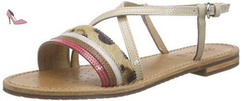 OSandales Chaussures Eu Sozy FemmeBeigech67g37 Geox D CQhrsdt