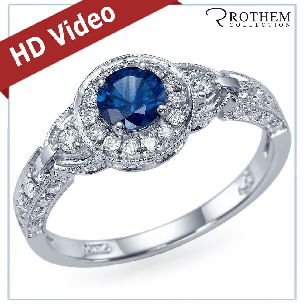 The New Natural Earth Mined Conflict Free Blue Sapphire