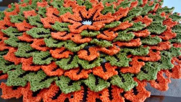 Toalha de Mesa Folhas de Outono – Barbante Barroco
