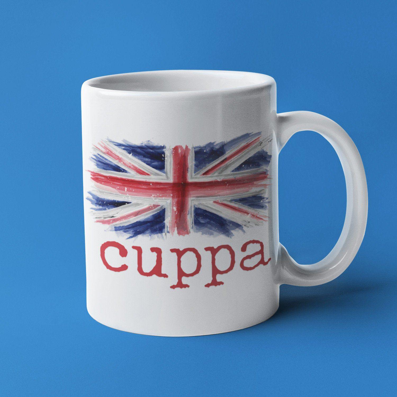 British Tea Mug | Cuppa Tea Mug | UK Gift Idea | Cuppa Tea #cuppatea