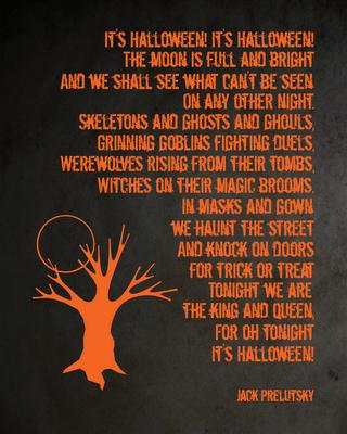 Freebie | Printable Halloween Poster
