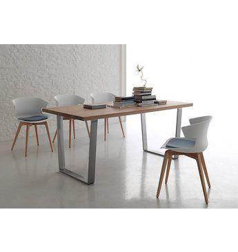 santa lucia Esstisch »Wood«, Breite 160 cm Eß-Tische (rustikal - esszimmer modern beige