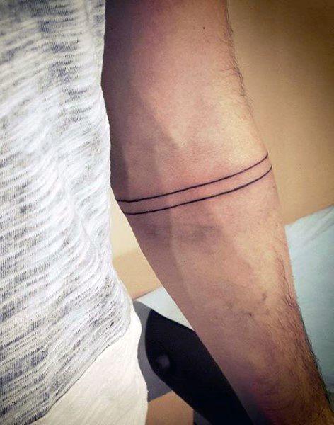 Arm band men 39 s simple tattoo lifne pinterest tattoo for Simple tattoos for men on arm