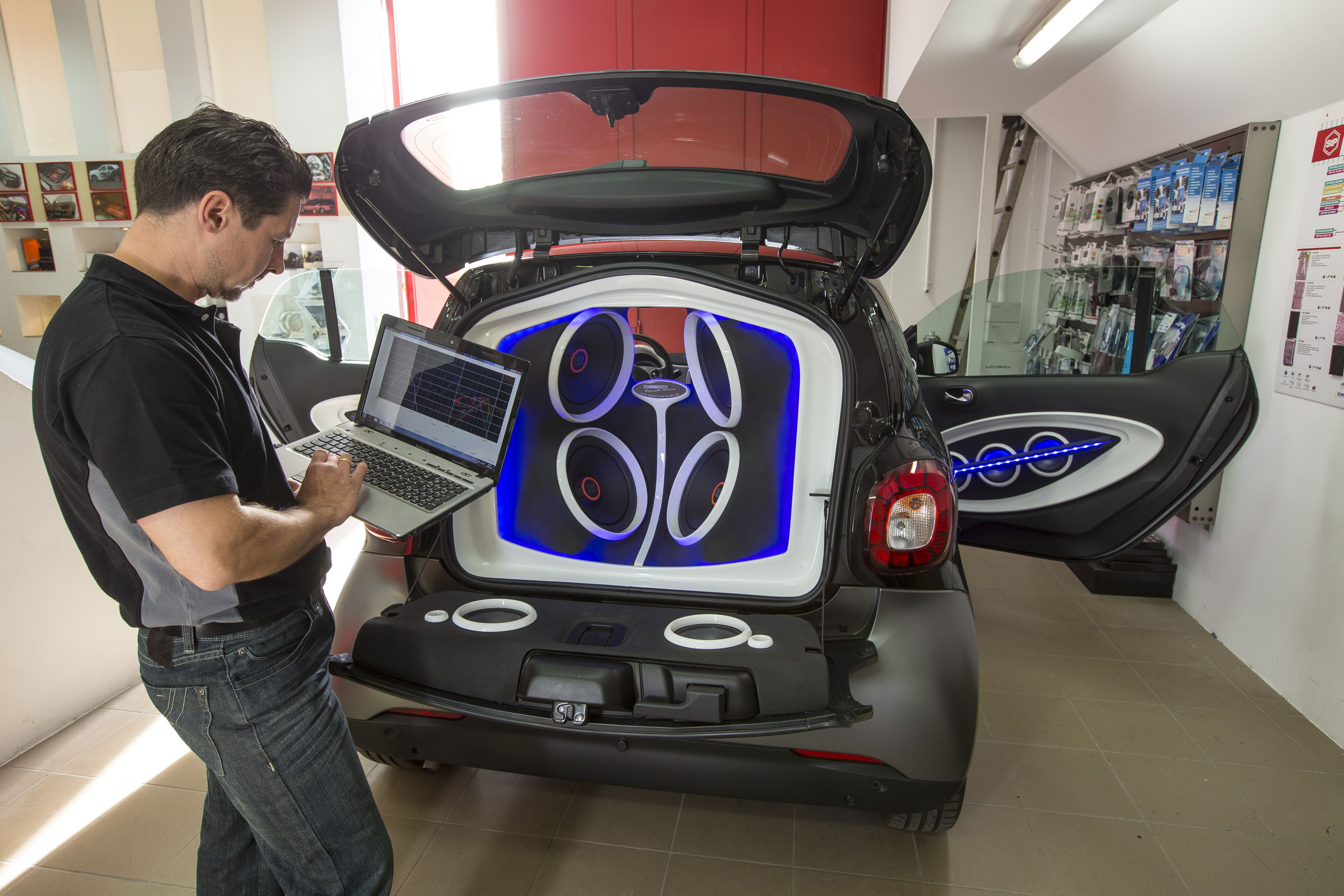 Smart For Two Outfitted With Jbl Sound System