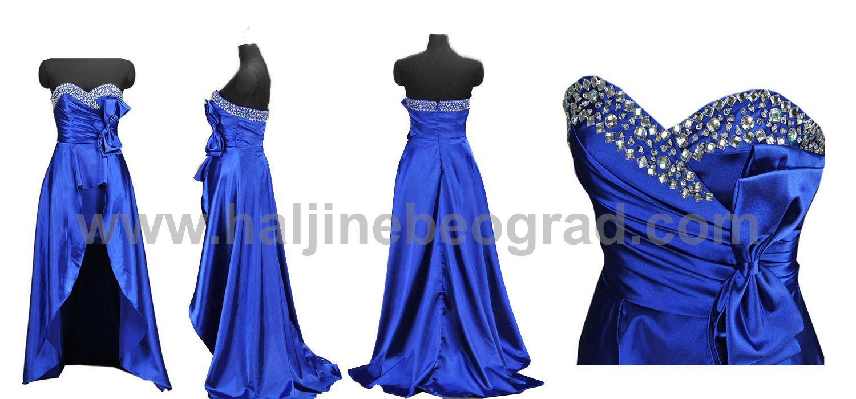 Duge Plave Svecane Haljine Dresses Prom Dresses Fashion