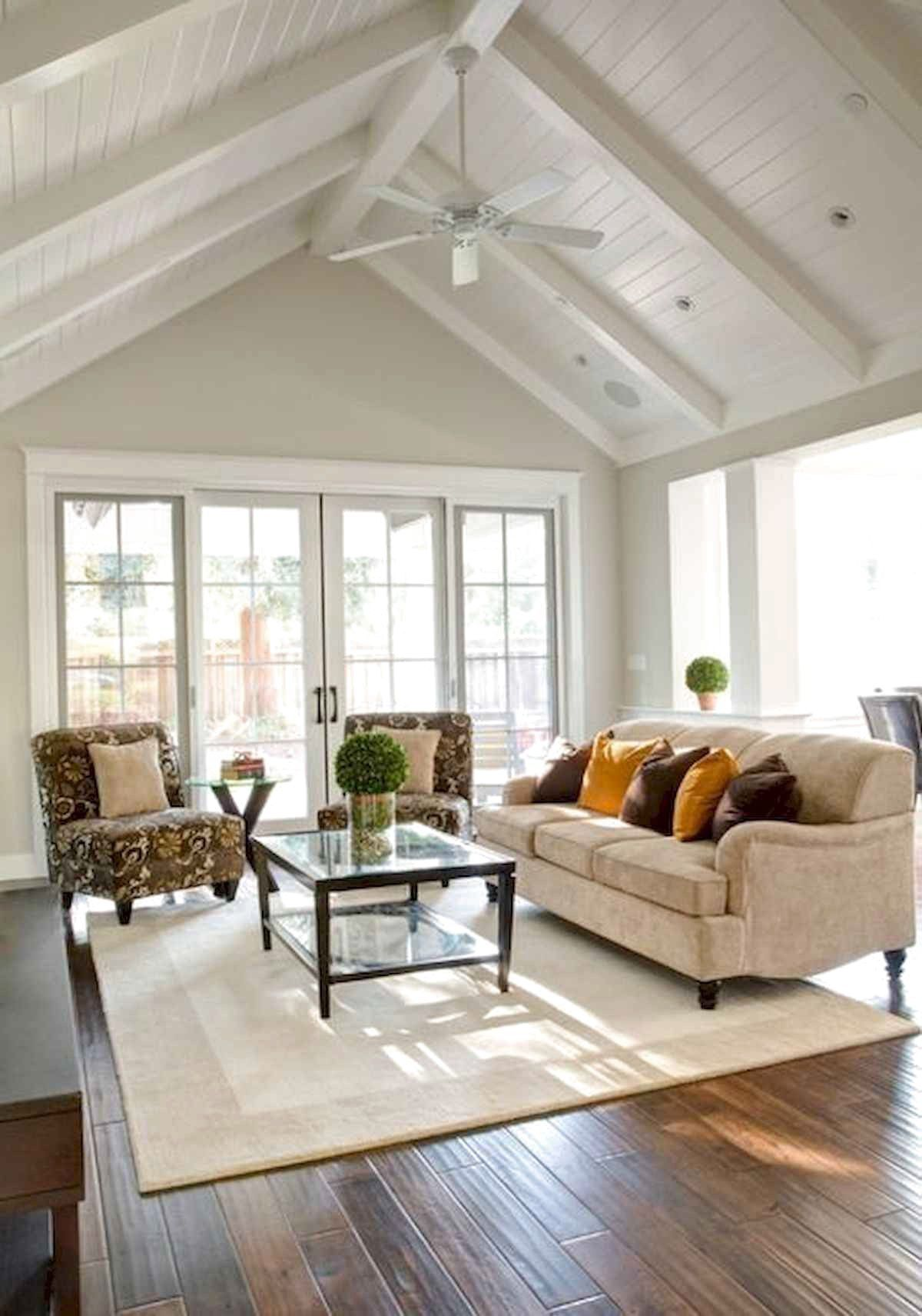 Favorite Furniture For Modern Farmhouse Living Room Decor Ideas Frugal Living Cathedral Ceiling Living Room Modern Farmhouse Living Room Farm House Living Room