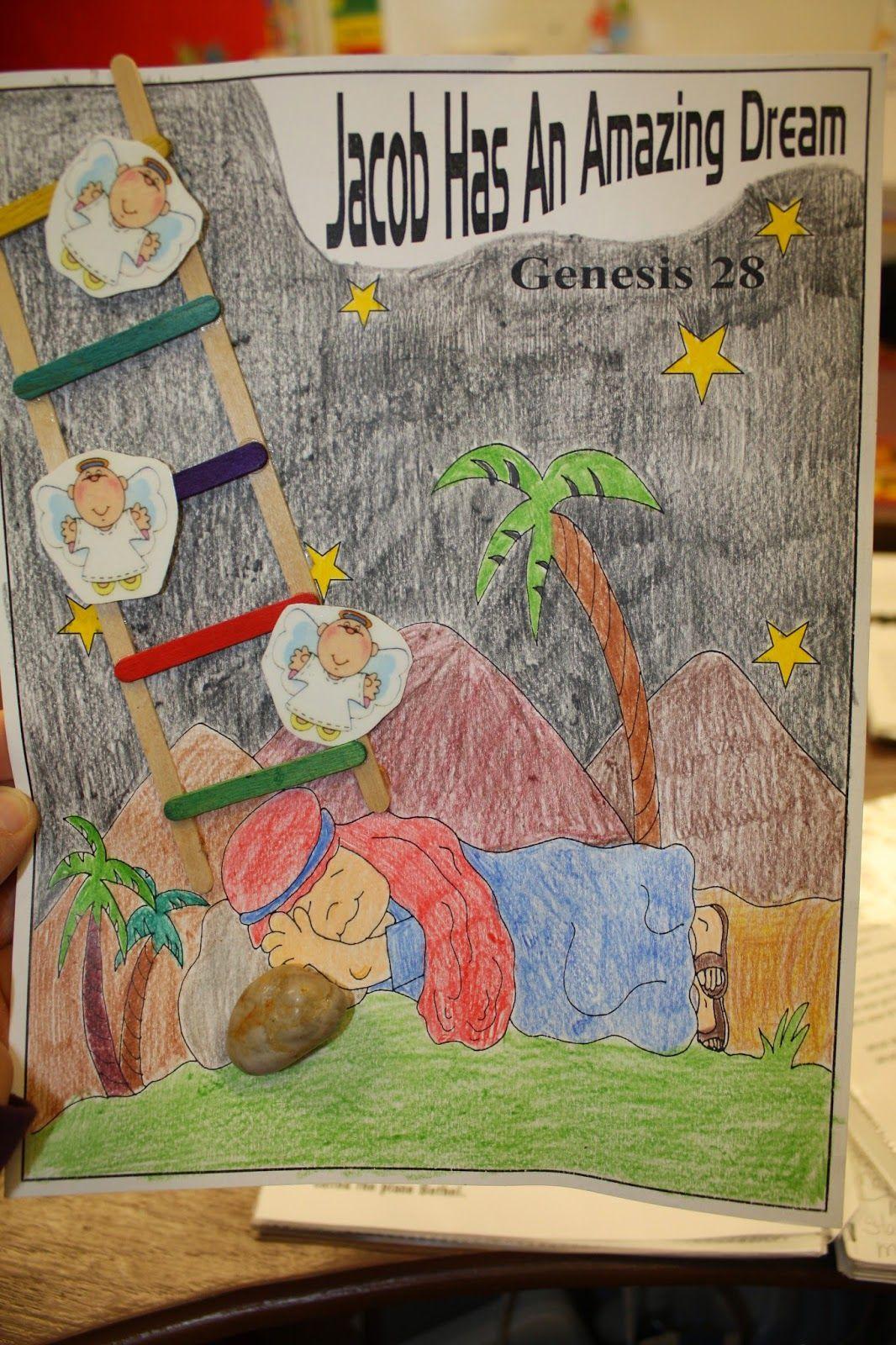 Hands On Bible Teacher Jacob Dreams Of A Ladder
