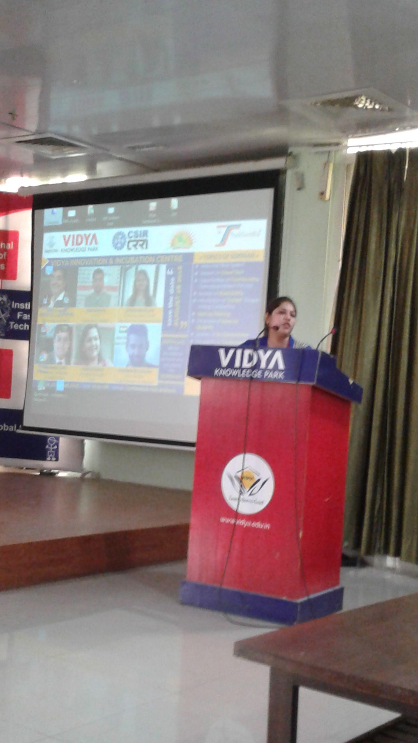 Ms Shilpa Mahajan & HR Manager, Sarvodaya