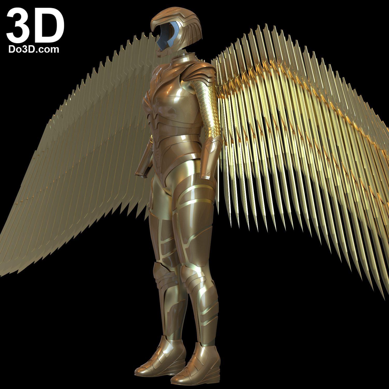 3d Printable Model Wonder Woman 1984 Diana S Golden Armor Print File Format Stl Do3d Com In 2020 3d Printable Models 3d Printing Industry Wonder Woman