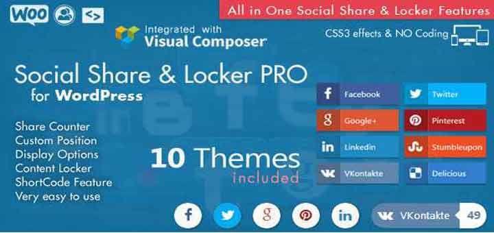 Wordpress Best Social Locker Plugin | Wordpress | Social