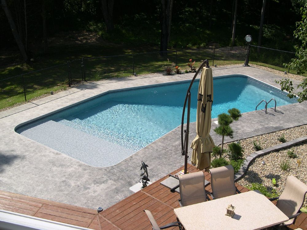 Lazy L Pool Outdoor Pools Rectangle Pool Pool Designs