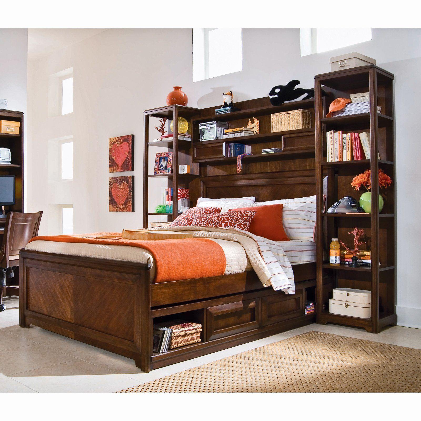 Bookcase Bed Bookcase bed, Modern kids bedroom