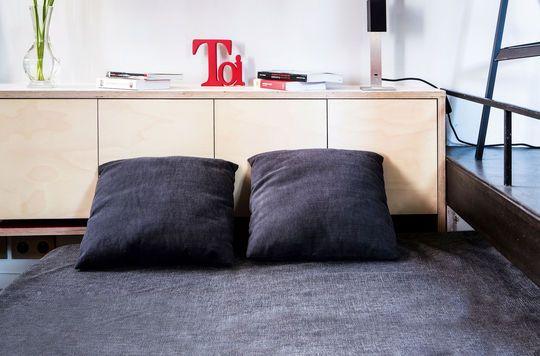 Amenager Un Studio De 16 M Solutions Efficaces Amenagement Studio Loft Appartement Idees De Lit