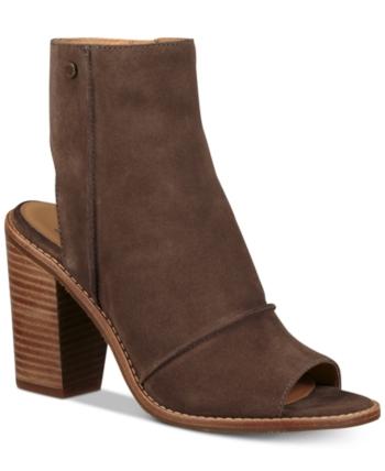 740db6ebf0f Ugg Women's Valencia Peep-Toe Shooties - Brown 7.5 | Products in ...