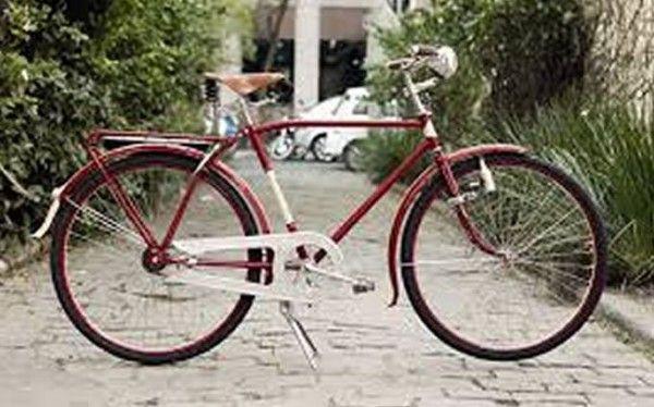 Tributo de bicicleta de ferro vintage para husqvarna