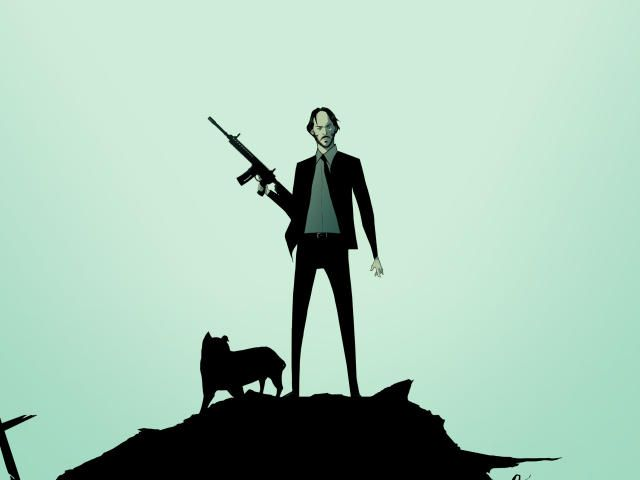1920x1080 John Wick and Dog 1080P Laptop Full HD Wallpaper, HD Movies 4K Wallpapers, Images, Photos and Background - Wallpapers Den