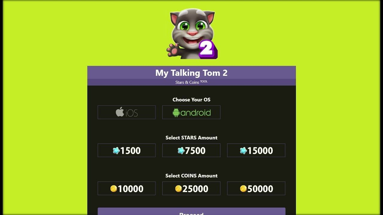 My Talking Tom 2 Hack - Get Coins & Stars Cat for Free on