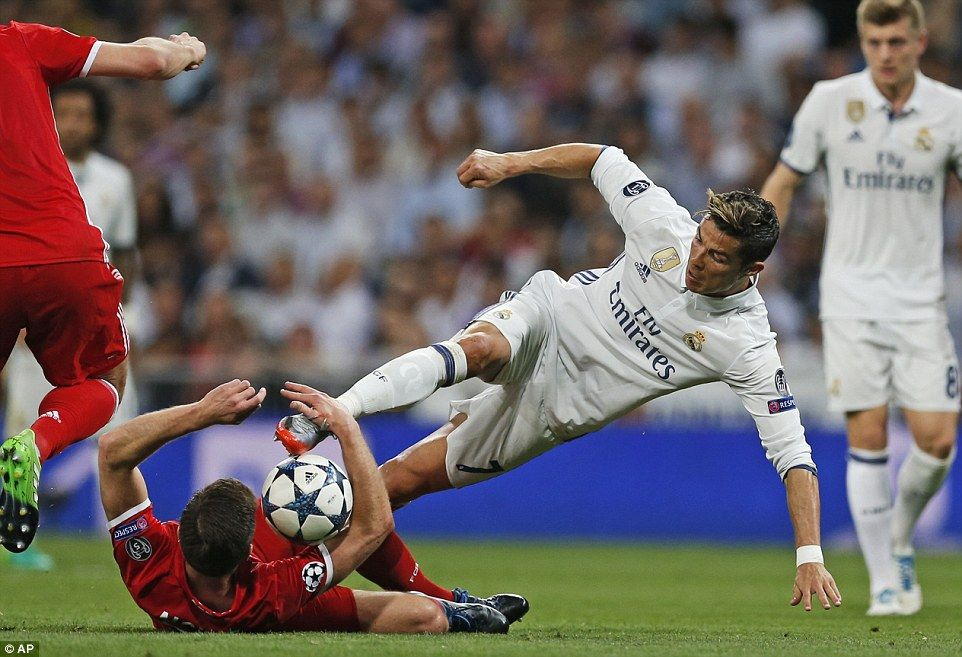 Real Madrid 4 2 Bayern Munich Aet 6 3 Agg Ronaldo Nets Hat