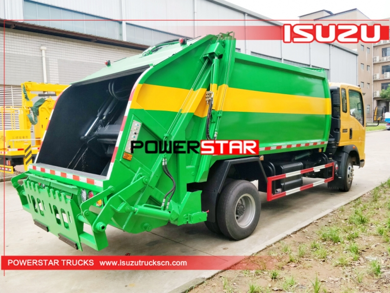 Hot Selling Garbage Truck Refuse Compactor Body For Sale In China Powerstar Trucks Https Www Isuzutruckscn Com Garbage Truck R In 2020 Garbage Truck Trucks Compactor