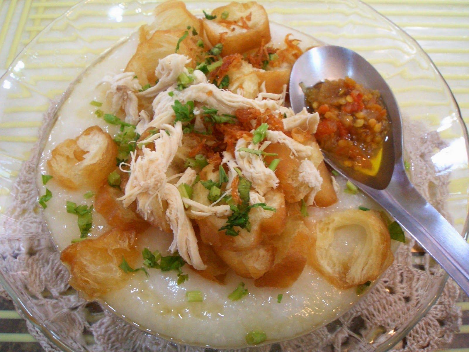 Resep Membuat Bubur Ayam Resep Masakan Resep Masakan Indonesia Masakan Indonesia