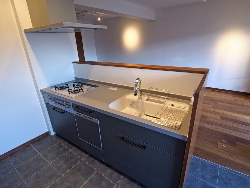 Lixilのアレスタ14 間口は2100mm Kskさんのlixilのシステムキッチン イエナカ手帖 アレスタ シンク システム キッチン