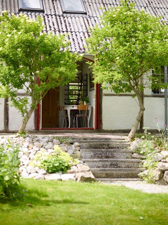 Gardens Lovely summer house at Mellby Klockaregrd