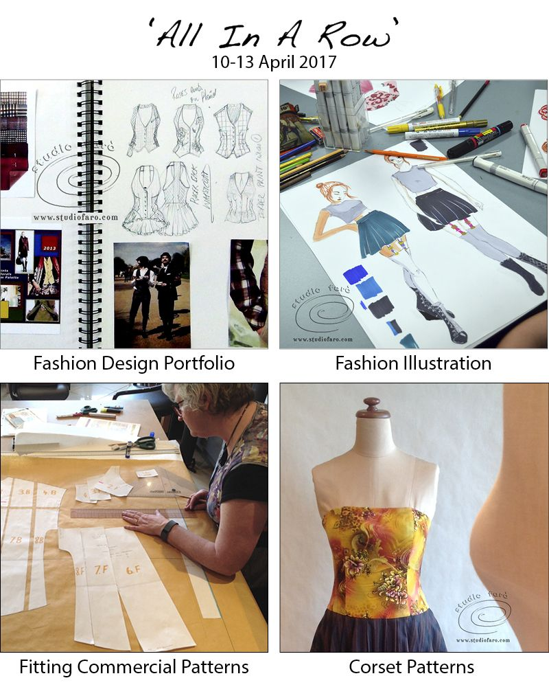 Get creative in april all your fashion training in one