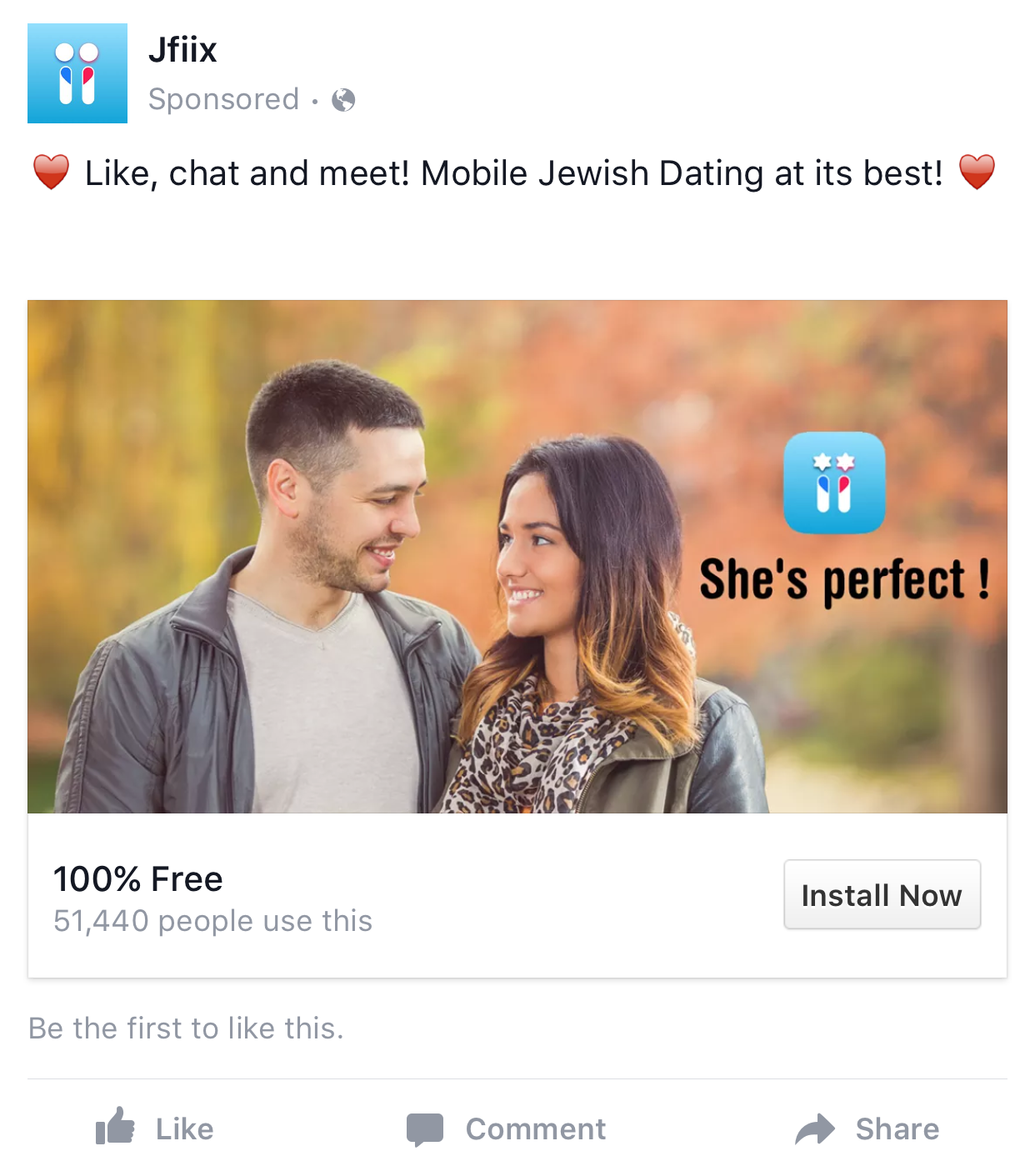 Facebook dating site advertising