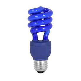 Mood Lites Blue T3 Cfl Decorative Light Bulb Lowes Com Decorative Light Bulbs Blue Light Bulb Light Bulb