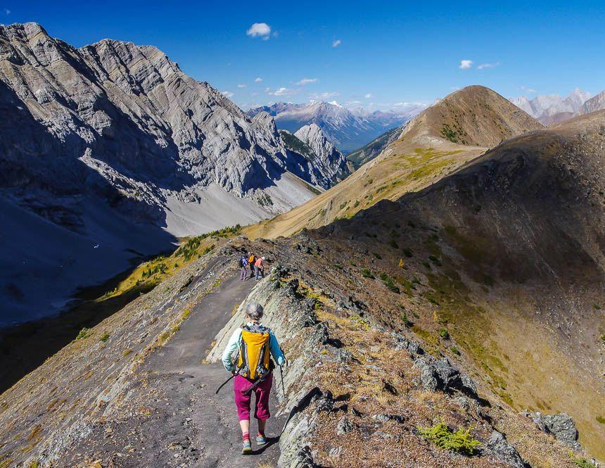 The Fantastic Pocaterra Ridge Hike in Kananaskis Hiking