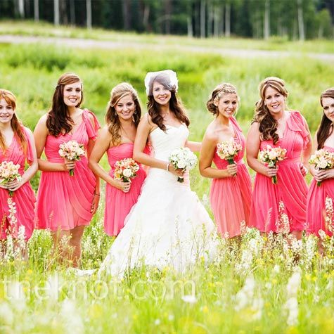 Love The Color Of Bridesmaid Dresses