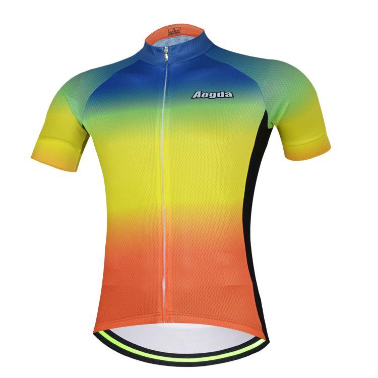 New Aogda Top Quality Miti Fabric Mens Pro Team AERO Race Cycling Jersey  Road Mtb Short 0af6bc780