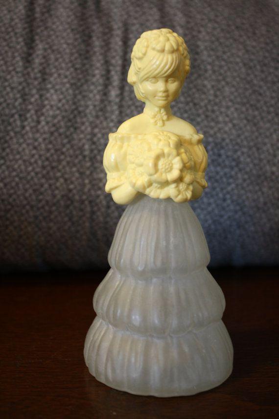 Vintage Avon Girl Perfume Cologne bottle