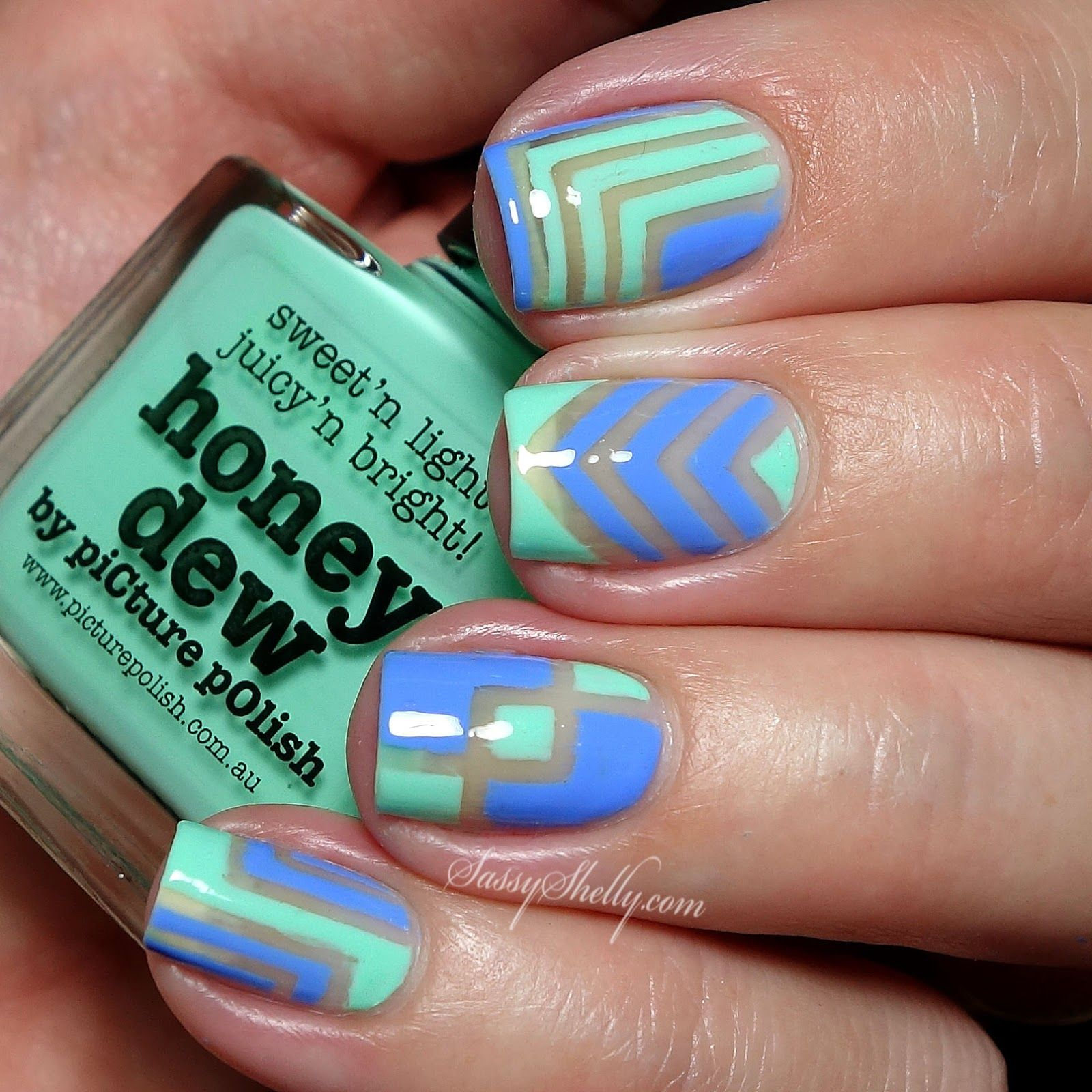 best images about negative space nail art on pinterest negative
